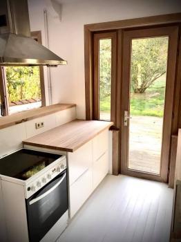 Jolie maison à louer avec jardin et garage à Uccle.