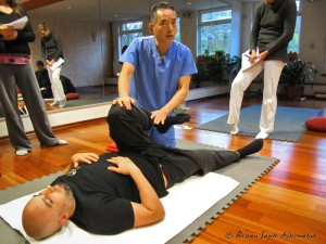 Stage international de shiatsu