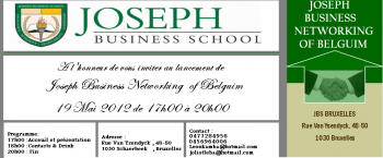 JOSEPH BUSINESS NETWORKING OF BELGUIM