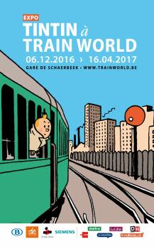 Exposition : Tintin à Train World