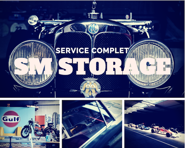 Voitures de collection : SMS South Motor Storage